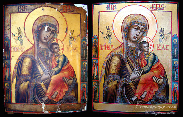 Реставрация иконы Черкассы