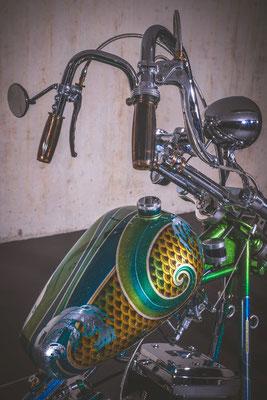 70`GER STYLE CHOPPER EIGENBAU Harley Davidson Bern Solothurn
