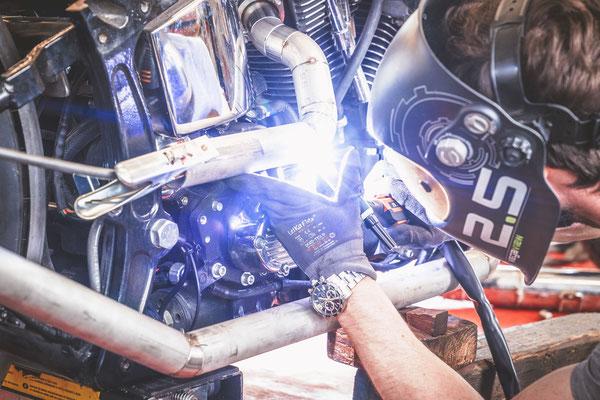 Harley Davidson Motorrad Service Reparatur Solothurn Bern