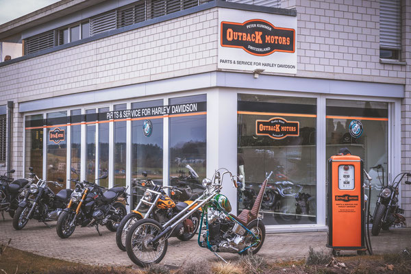 Outback Motors Lohn Ammannsseg Harley Davidson BMW Motorrad