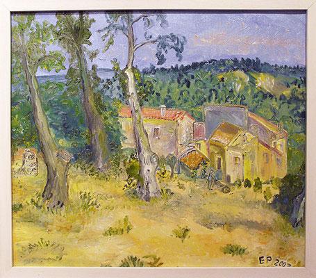 Cignac in der Vaucluse 2007