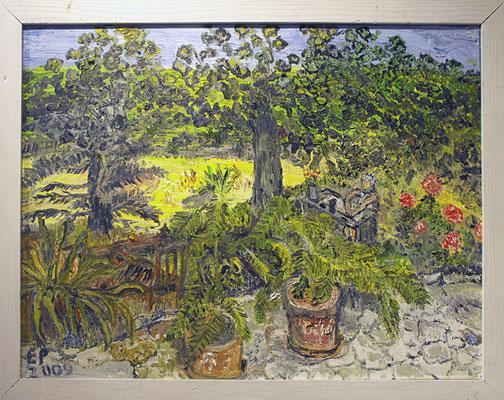 Blick in meinen Garten 2009