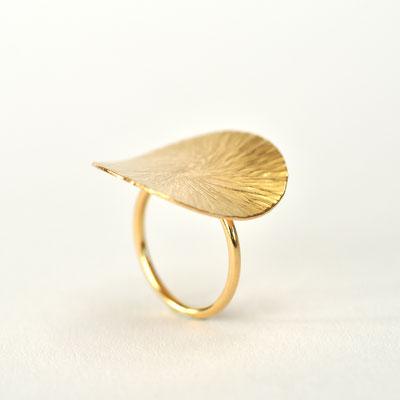 Ring geschmiedet in 750/- Gelbgold