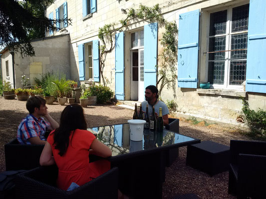 Tasting of Montlouis sur Loire wines