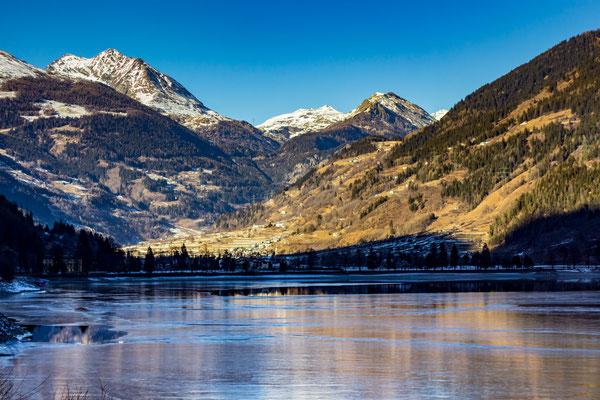 Bild #3221 Schwarzeis am Lago di Poschiavo