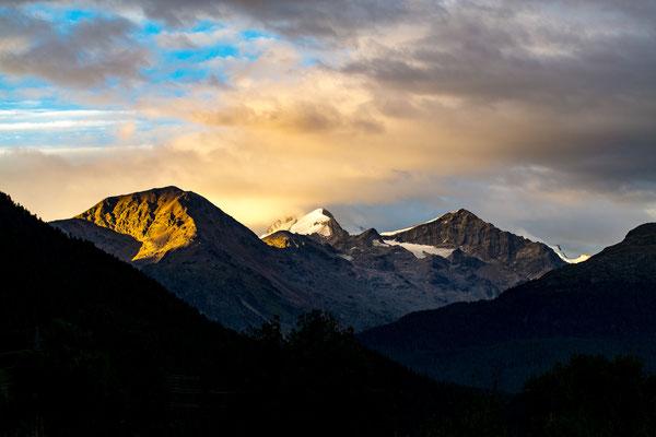 Bild #7239 Das Leuchte der Berge