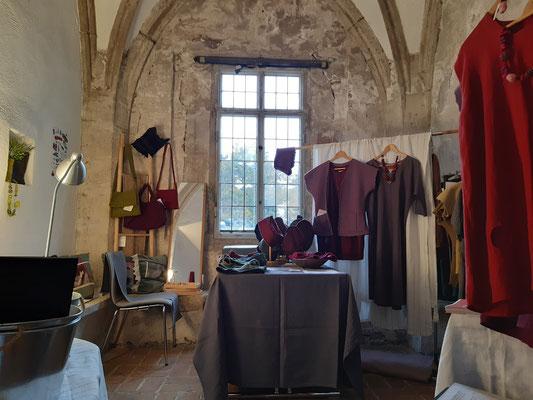 Textildesign Gerda Kohlmayr, Ausstellung in der Burg Perchtoldsdorf