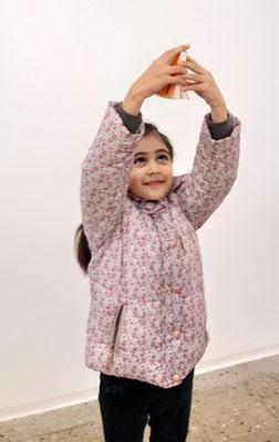 Negah Fakirzada, Kids, 2019 bei einer Ausstellung in der Kunstgalerie Waidhofen/Thaya