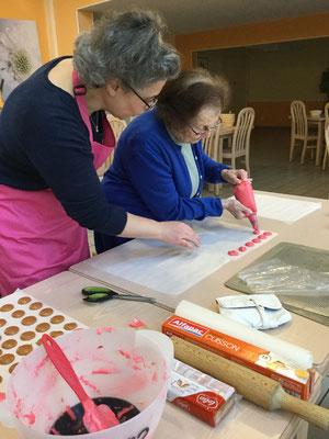 Atelier culinaire avec les séniors de la Résidence Services