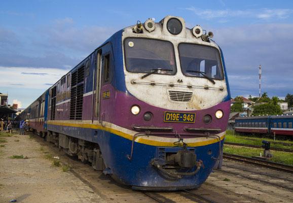 Ein Zug in Vietnam.