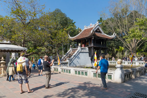Einsäulenpagode ist eines der kulturellen Highlights in Hanoi