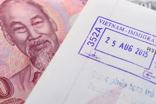 Mit dem richtigen Visum steht dem Vietnam Urlaub nichts im Wege.
