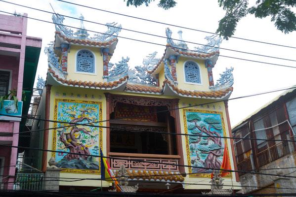 Eine buddhistische Pagode in Da Nang