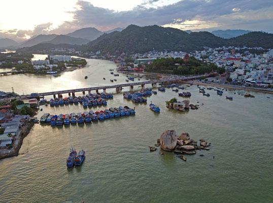 Boote auf dem Han River