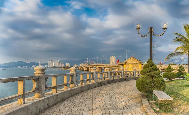 Die Uferpromenade von Nha Trang