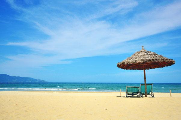 Der Strand von Da Nang