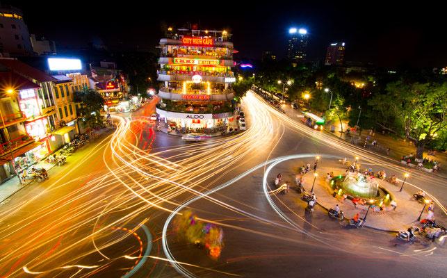 Das quirlige Zentrum von Hanoi