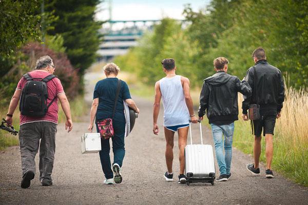 Auf dem Weg - Foto: Michaela Hanf