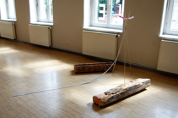 YOUR BODY WANTS IT, 2011, mixed media, 200x130x140cm