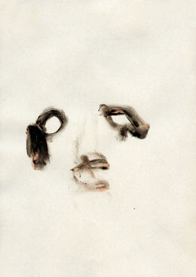 ANOTHER FOOL, 2009, mixed media on paper, 29,7x21 cm