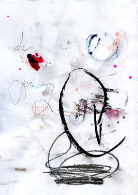 CHANGE MY NAME, 2010, mixed media on paper, 29,7x21cm