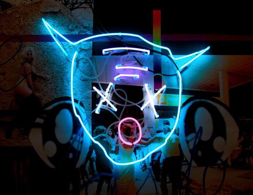HAKUNA MATATA, 2016, neon object, 70x85cm