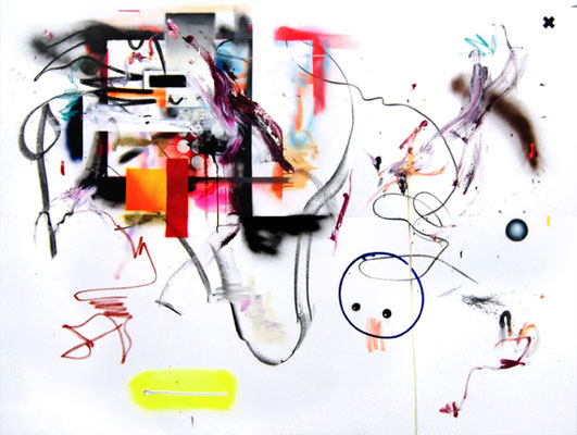 MPU YOUR LIFE, 2015, mixed media on canvas, 150x200cm