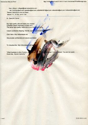 GEHT DOCH, 2010, mixed media on paper, 29,7x21cm