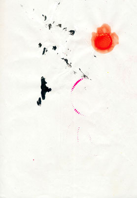 ERSTWÄHLERCHECK, 2013, mixed media on paper, 29,7x21cm