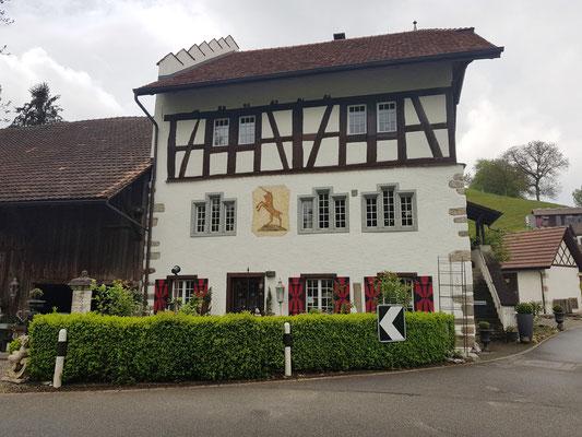 Schloss zum Einhorn am 4. Mai 2019