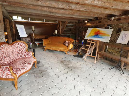 Ausstellungsraum Scheune
