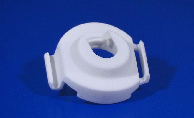 Verschlusskappe aus Kunststoff hergestellt per selektives Lasersintern aus PA2200