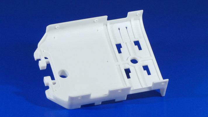 Kleinserie Gehäuse aus PA2200 per Lasersintern nach Toleranz ISO2768-m