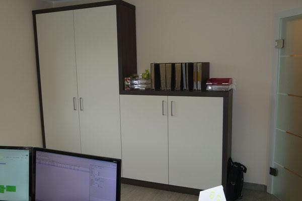Büromöbel - Umsetzung der 3D Planung