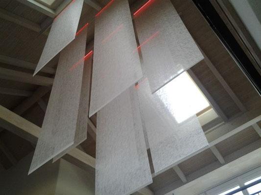 optische und akustische Verbesserungen in hohen Räumen