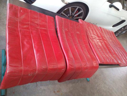 Ferrari Sitzpolster vorher 2