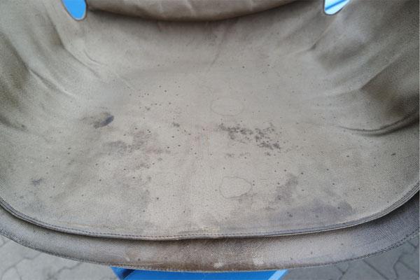 Sitzfläche vorher