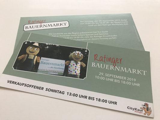 Flyer für Einzelhändler in Ratingen