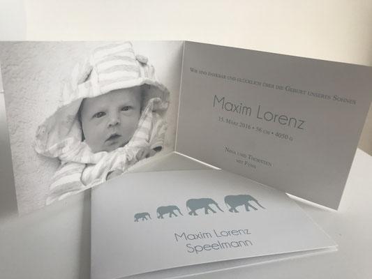 Geburtskarte Bildlogo