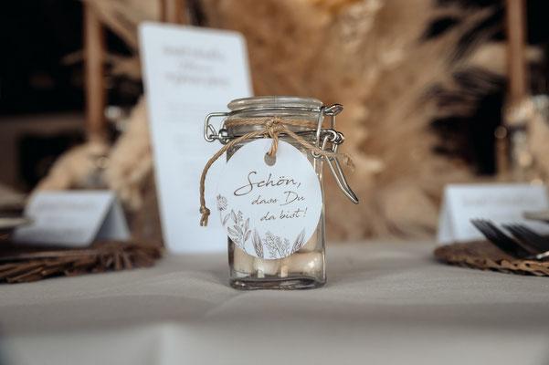 Gastgeschenk Boho Hochzeit