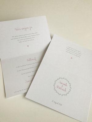 Hochzeitseinladung Logo