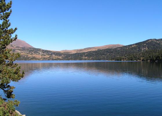 l'incontournable lac des Bouillouses pour une balade adaptée à la forme de chacun