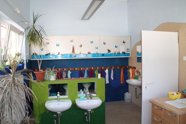 Verschiedene Buntsteinputze und Buntglasputze für Kindergarten