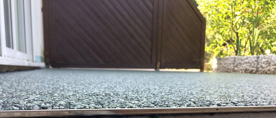 Marmorsteinteppich Grün