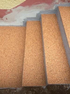 Marmorsteinteppich Terracotta