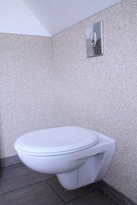 Marmorsteinteppich Beige an Wand mit Wandbindemittel