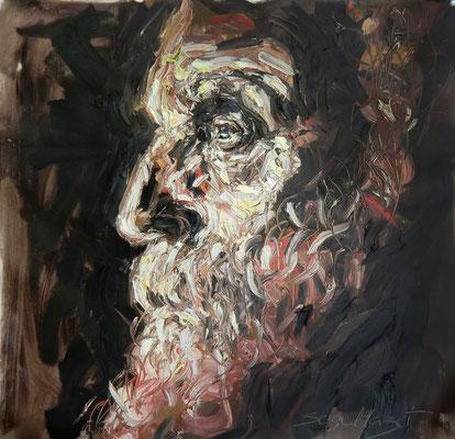 Cesar - Huile sur toile - 73 x 92 cm - 2015