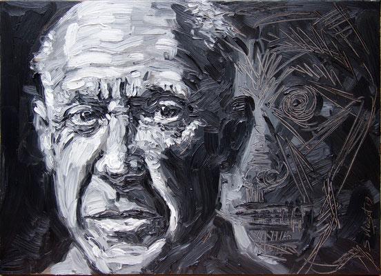 Picasso & la Mort - 81x60 cm - 2019