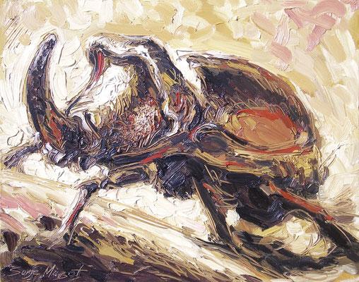 Scarabée - Huile sur toile - 73 x 92 cm - 2010