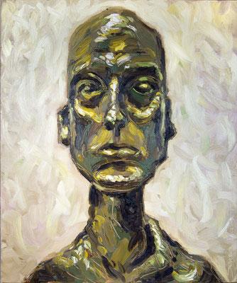 Diégo - Huile sur toile - 54x65cm - 2015